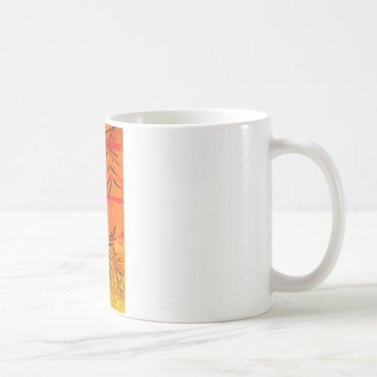 Asian Bamboo Art Coffee Mug