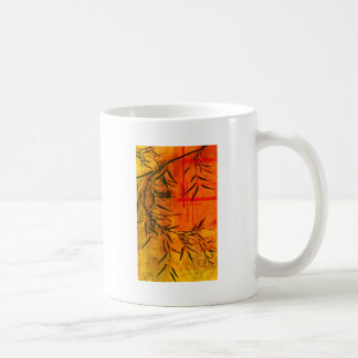 Asian Bamboo Art Coffee Mug