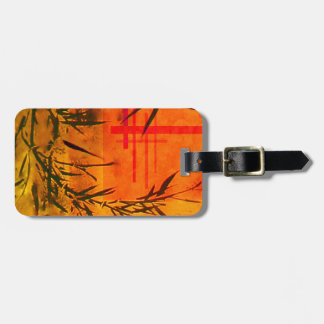 Asian Bamboo Art Tag For Luggage