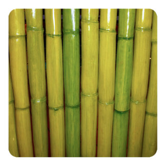 Asian Bamboo Stalks Japanese Sushi Dinner Party Card