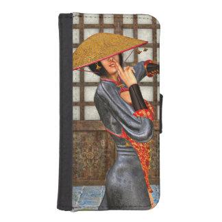 Asian Battle Woman iPhone SE/5/5s Wallet