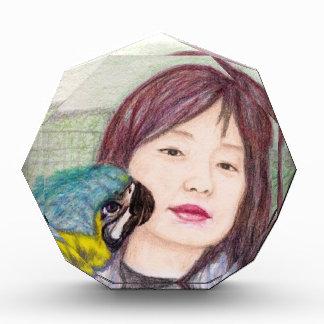 Asian beauty lady woman girl award
