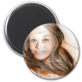Asian beauty lady woman girl magnet