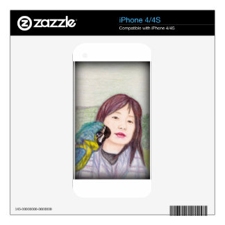 Asian beauty lady woman girl skin for the iPhone 4S