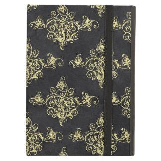Asian Black and Gold Florish iPad Air Case