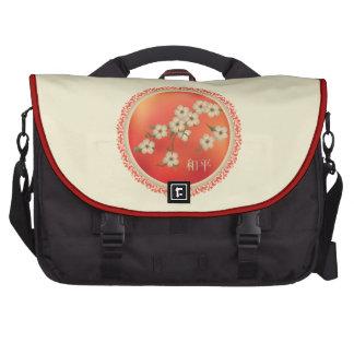 "Asian blossom ""Peace"" Commuter Bag"