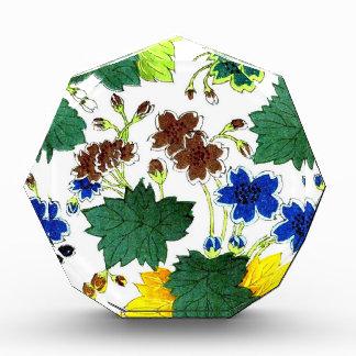 Asian  Botanical Acrylic Award