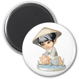Asian Boy Magnet