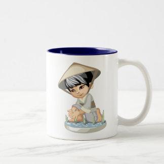 Asian Boy Mug