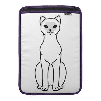 Asian Cat Cartoon MacBook Air Sleeve