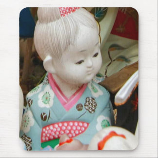 Asian ceramics, figure of a baby mouse pad