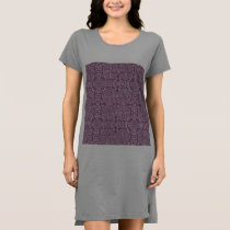asian,chinese,happy,life,pattern,lavender,purple,t dress