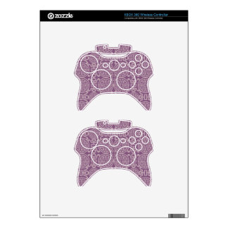 asian,chinese,happy,life,pattern,lavender,purple, xbox 360 controller skins