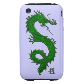 Asian, Chinese,Mythical Dragon, Year of the Dragon iPhone 3 Tough Cover