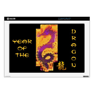 Asian, Chinese,Mythical Dragon, Year of the Dragon Skins For Laptops