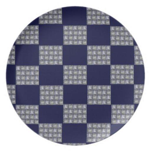 Asian Chop Checkered Plate