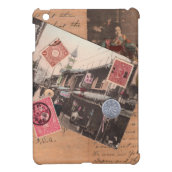 Asian Collage iPad Mini Cover