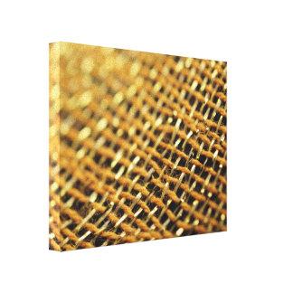 Asian decorative fabric closeup image canvas print