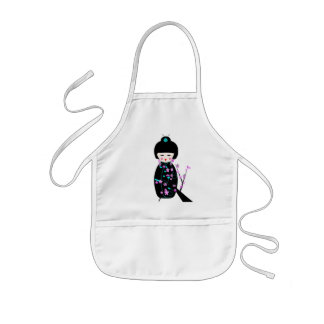 Asian Dolls Kids' Apron