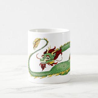 Asian Dragon Cartoon Mugs