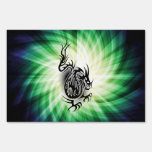 Asian Dragon Design; cool Lawn Signs