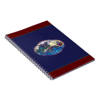 Asian Dragon Medallion Spiral Notebook