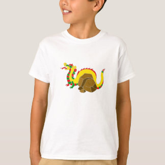 Asian Dragon & Rocks T-Shirt