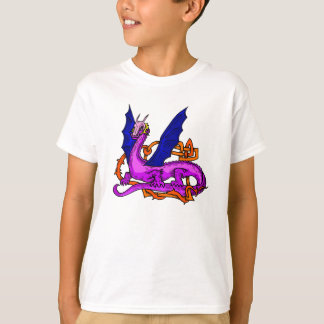 Asian Dragon & Vines T-Shirt
