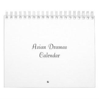 Asian Dramas Calendar