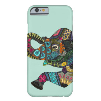 asian elephant aqua barely there iPhone 6 case