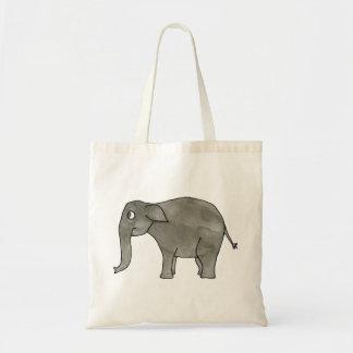 Asian Elephant. Canvas Bags