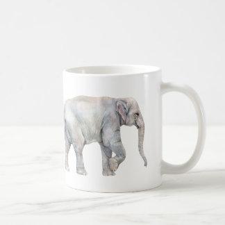 Asian Elephant Family Coffee Mug