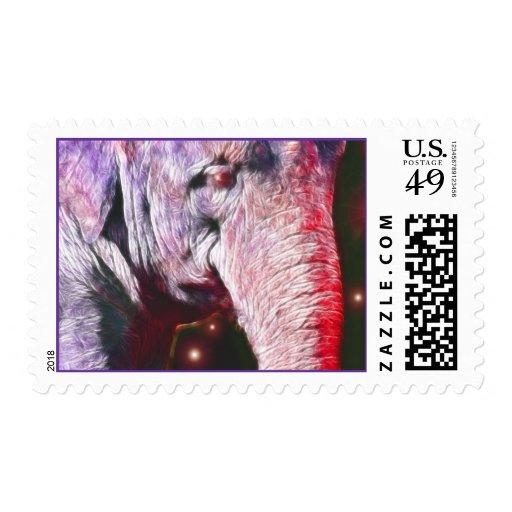 *Asian Elephant* Wild Spirit Stamps
