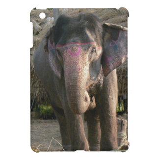Asian Elephant with a Pink Tiara iPad Mini Case