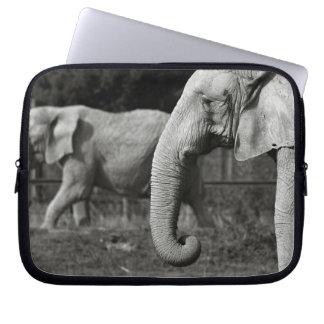 Asian Elephants Electronics Bag Laptop Computer Sleeve