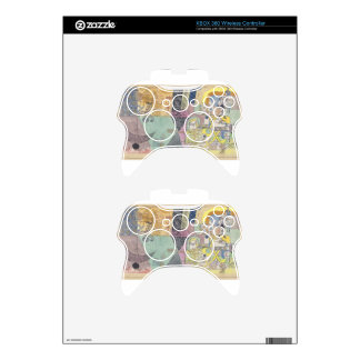 Asian entertainers by Paul Klee Xbox 360 Controller Skins