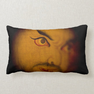 asian eye throw lumbar pillow