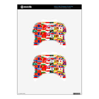 Asian Flags Xbox 360 Controller Decal