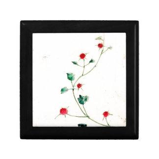 Asian Flower Gift Box