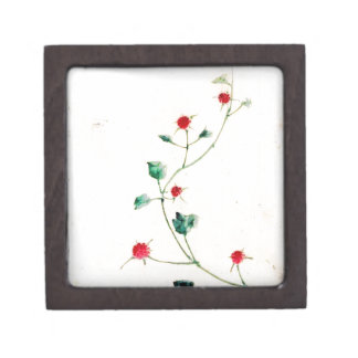 Asian Flower Jewelry Box