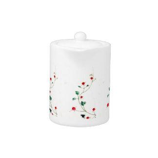 Asian Flower Teapot