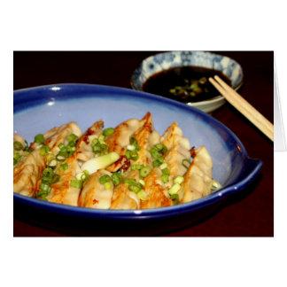 Asian food Invitation Note Card