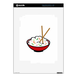 ASIAN FOOD iPad 2 SKINS