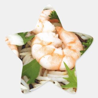 Asian food star sticker
