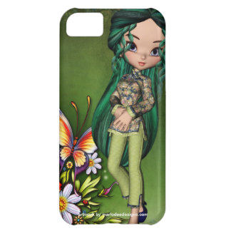 Asian Girl Beautiful Flowers Design 7 Cover For iPhone 5C