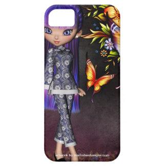 Asian Girl Beautiful Flowers Design 8 iPhone SE/5/5s Case