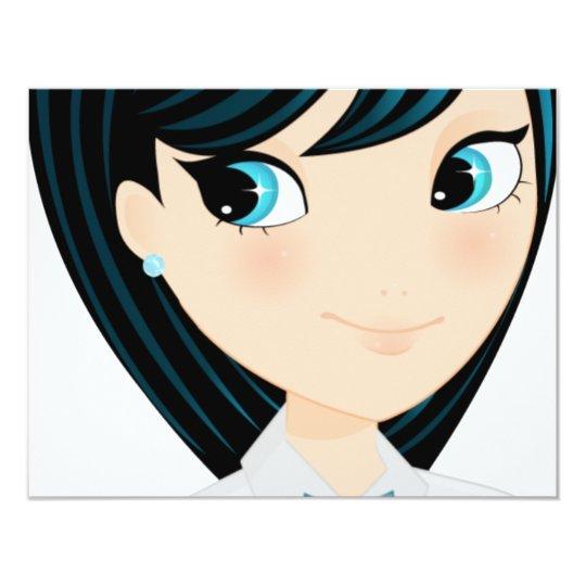 Asian girl card