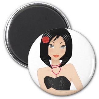 Asian Girl Magnet