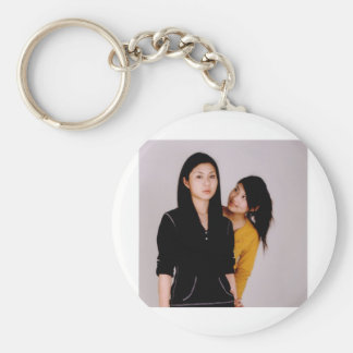 Asian Girl Movie Style Keychain