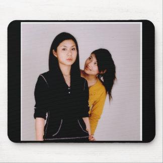 Asian Girl Movie Style Mousepad